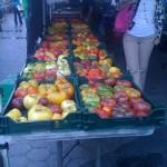 Organic food at Union Square New York