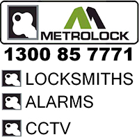 Metrolock Locksmiths Alarms CCTV